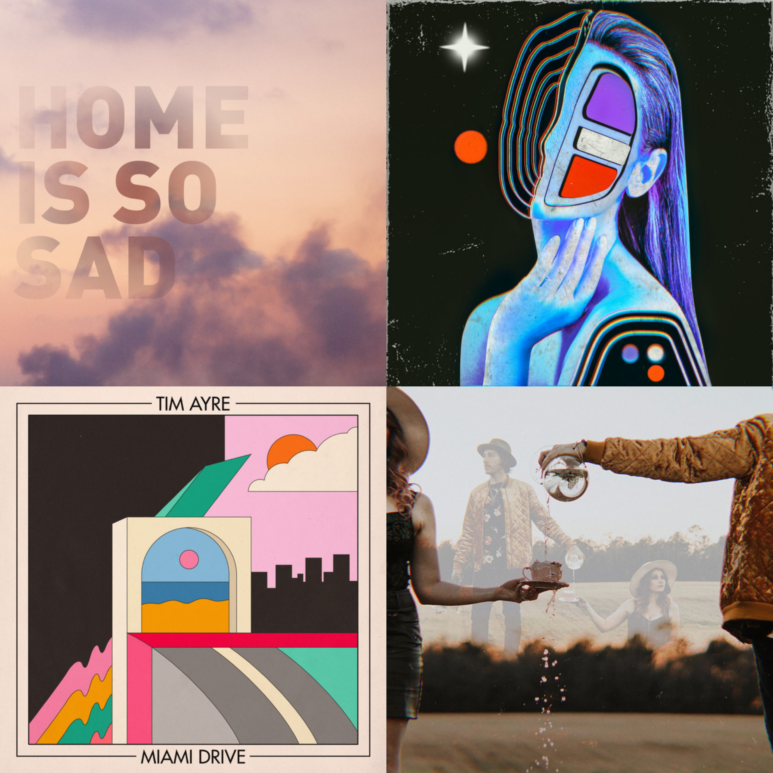 New music from Postcards, Kirk Francis, Tim Ayre, D'Indigo
